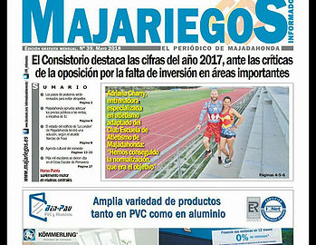 reportaje club escuela atletismo majadahonda