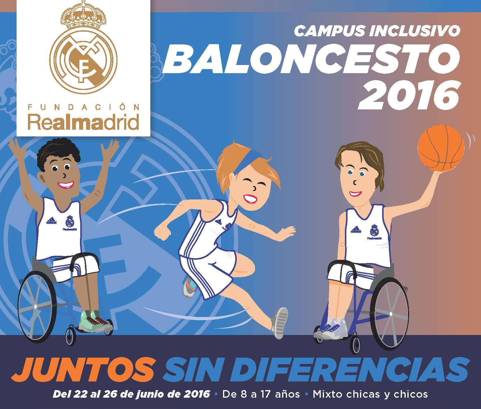 campus inclusivo baloncesto