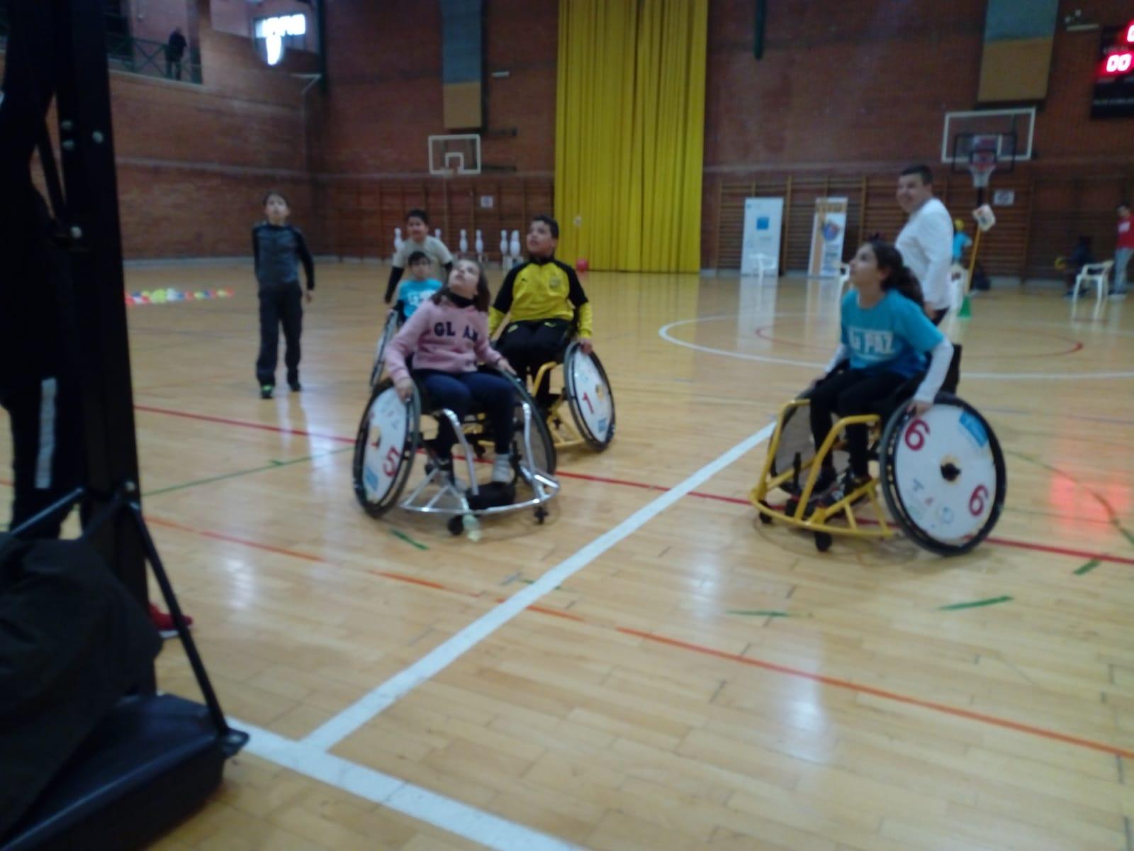 dia de la discapacidad en parla