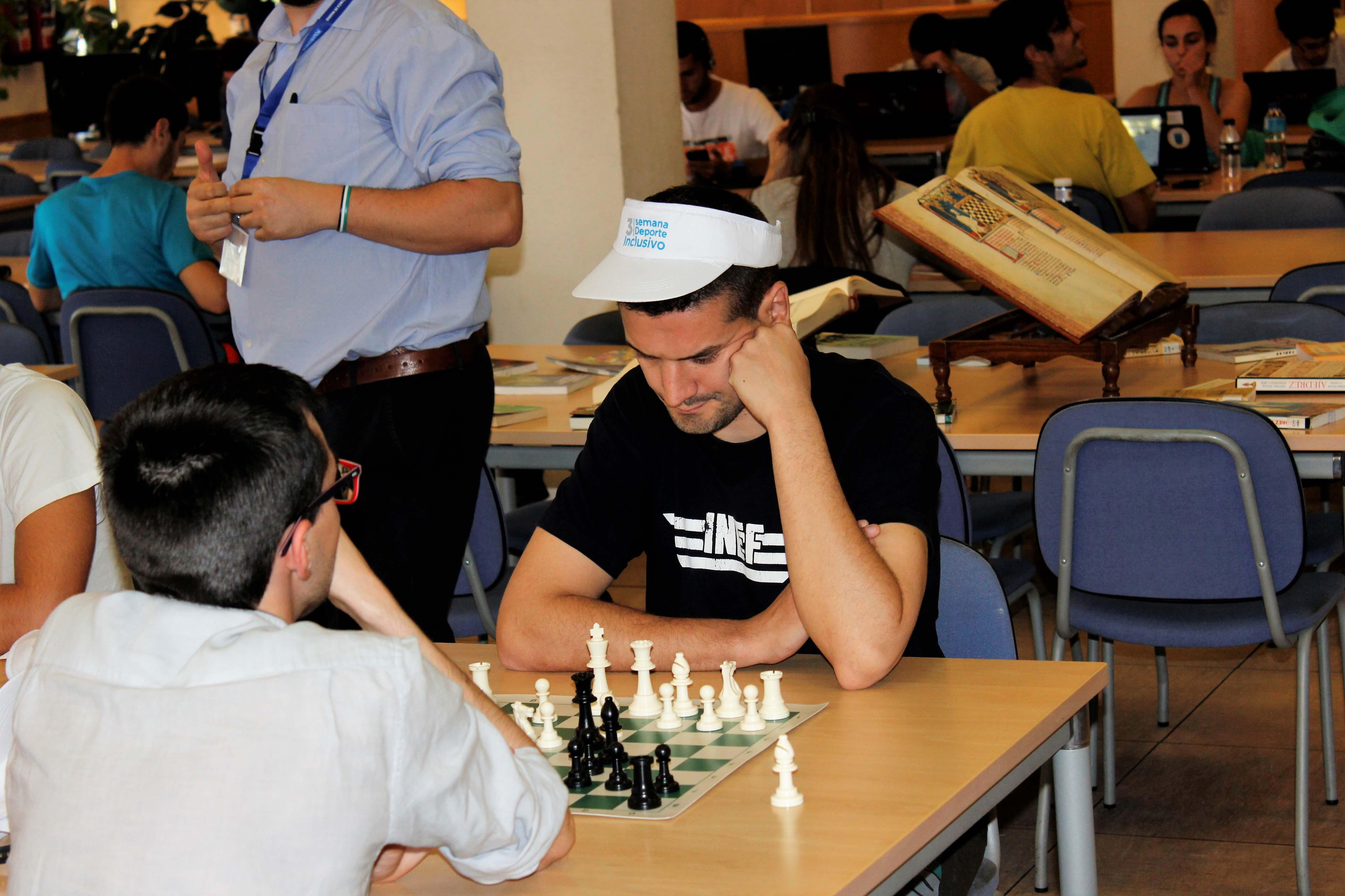 torneo INEF de ajedrez
