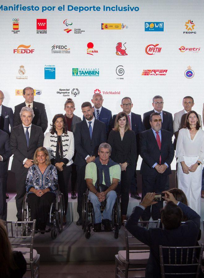 Firma manifiesto por el deporte Inclusivo